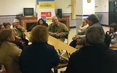 Los vecinos de Casablanca celebran el primer Encuentro por el Futuro de Olivares.