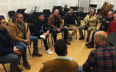 Encuentro para el Futuro de Olivares con la Banda Las Nieves