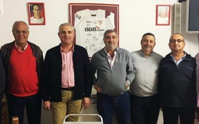 Encuentro para el Futuro de Olivares con la Peña Sevillista