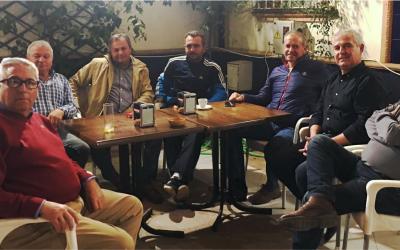 Encuentro con los cazadores del Club de Galgueros de Olivares