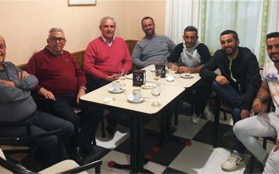 El PSOE de Olivares se reúne con el Club de Petanca