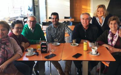 Encuentro con Namasté para promover la solidaridad en Olivares