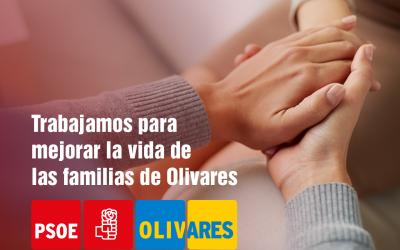 Trabajamos día a día para mejorar la vida de las familias de Olivares.