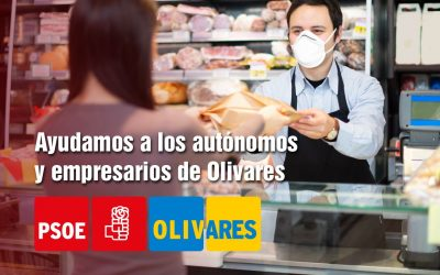 Ayudamos a los autónomos y empresarios de Olivares.