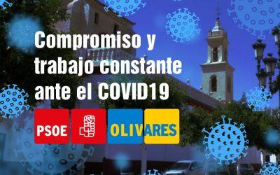 Compromiso socioeconómico y trabajo constante: claves del PSOE de Olivares para gestionar la crisis del COVID19